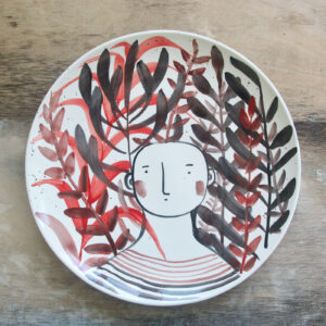 Omino Centrotavola ceramica