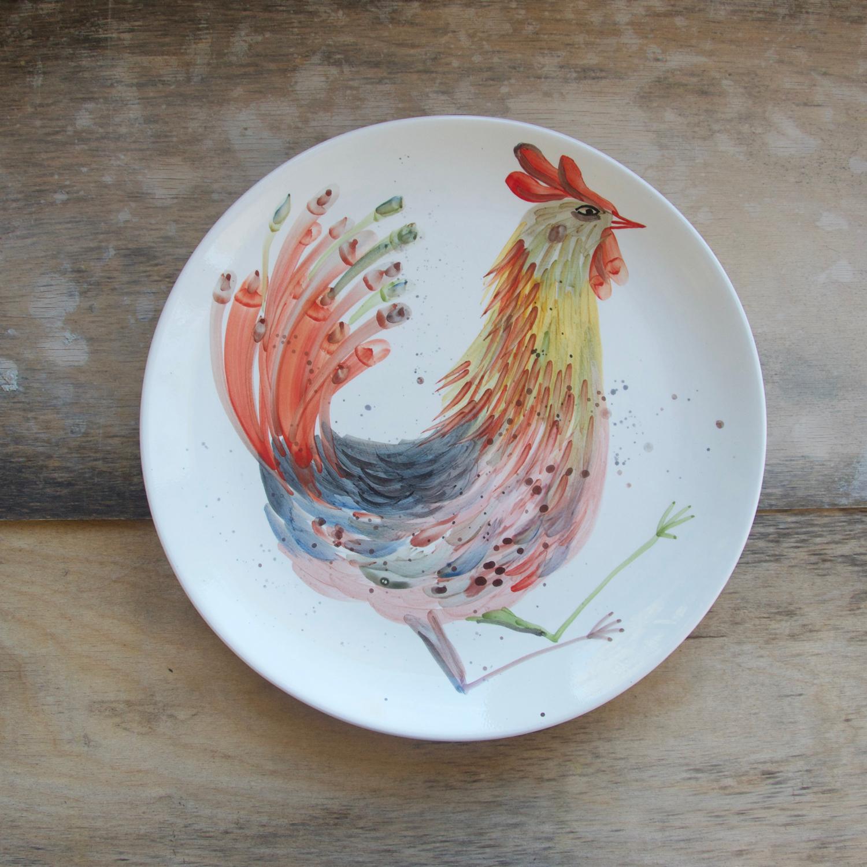 Centrotavola ceramica, casa, fatto a mano, per la tavola, idea regalo, pezzo unico, ceramica ornamentale, design, dipinto a mano