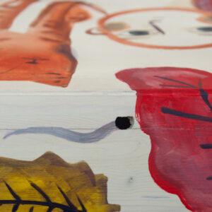 Scatole in legno dipinte